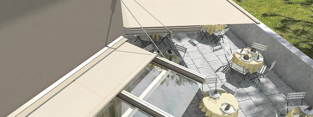 Sonnenschutz Au En Jalousien Fassadenmarkise Raffstores